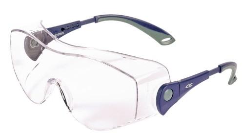 COFRA Overpro Schutzbrille Besucherbrille EN 166